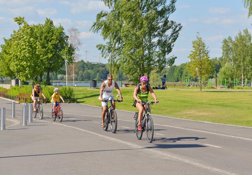 Pyöräilylomat Suomessa